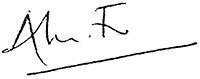 Alun Francis Signature